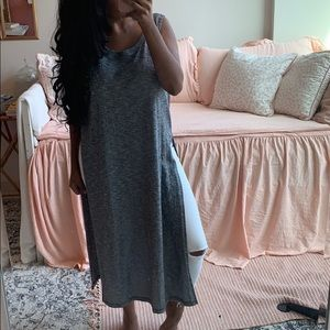 Forever 21 - Black and Gray Oversized knit tunic